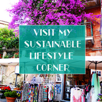 sustainable lifestyle corner