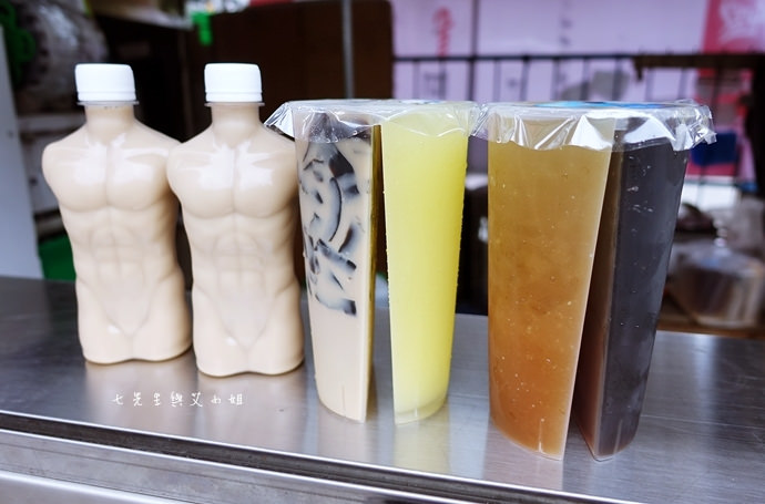 7 三角舖正古早味冰品茶飲 雙享杯 小鮮肉奶茶