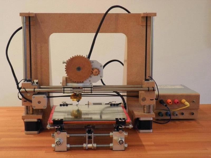 mAka configurada como impresora 3D