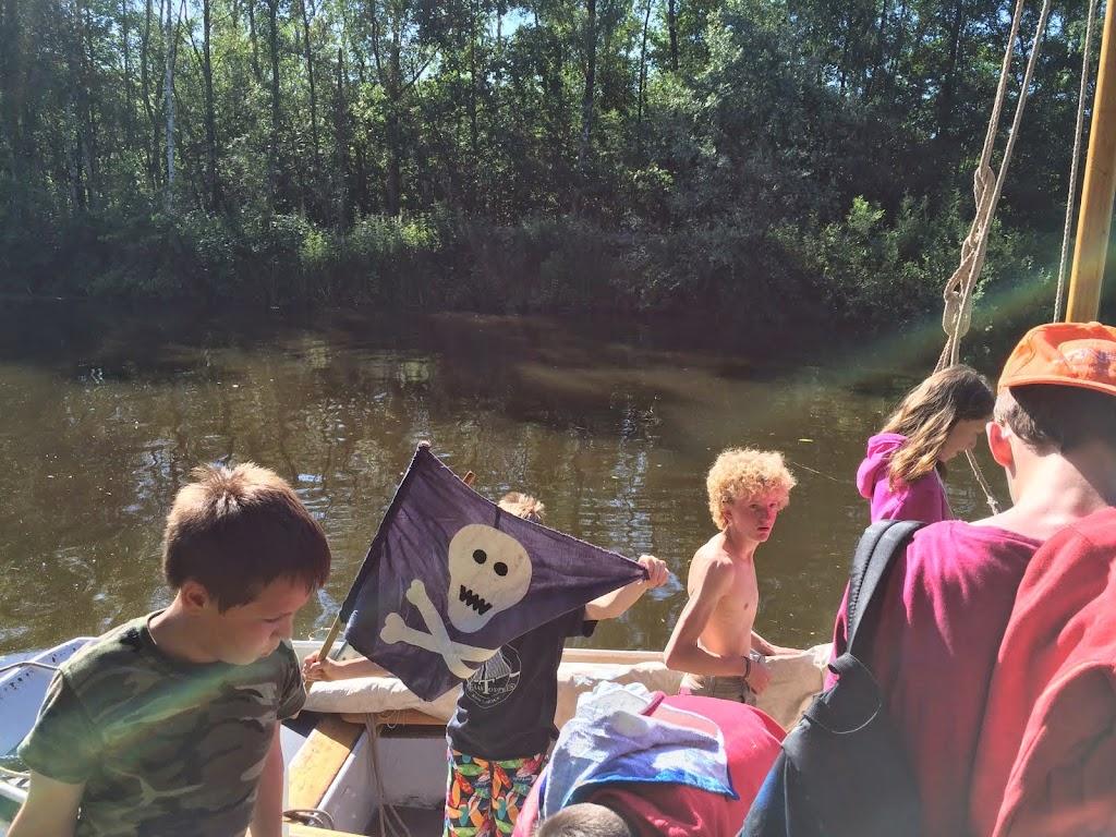 De piratenvlag van Kees