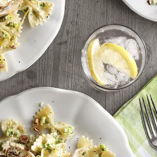 Creamy Chicken-and-Broccoli Pesto Bow Ties