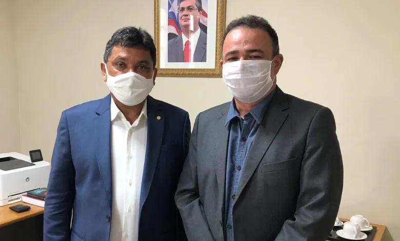 Presidente da Famem, Erlanio Xavier, visita Secretário Márcio Jerry