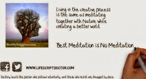 Best Meditation Is No Meditation