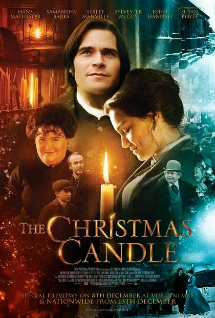Poster Of English Movie The Christmas Candle (2013) Free Download Full New Hollywood Movie Watch Online At alldownloads4u.com