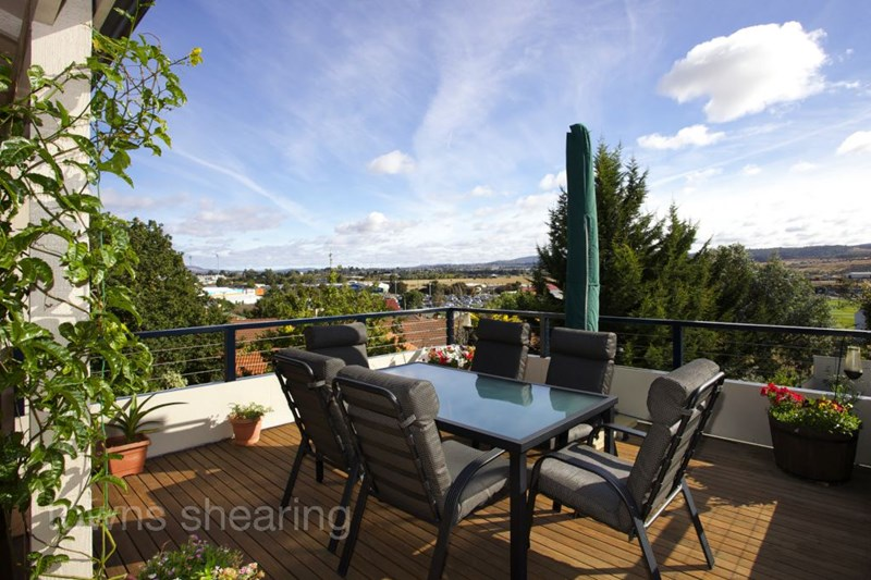 North-East view from 31 Elphin Road, Launceston TAS
