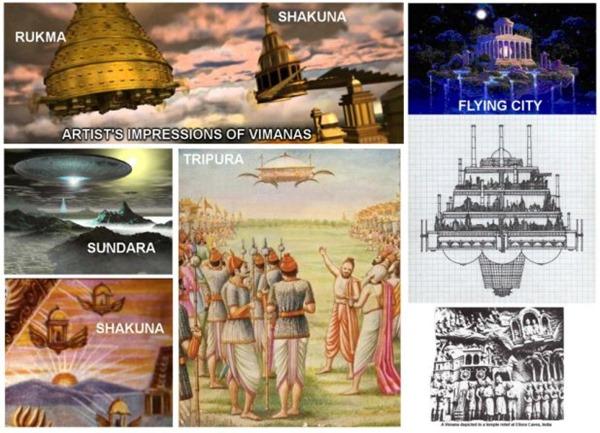 vimanas - UFOs visitaram o nosso planeta há 6.000