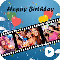 Birthday Photo Video Maker icon