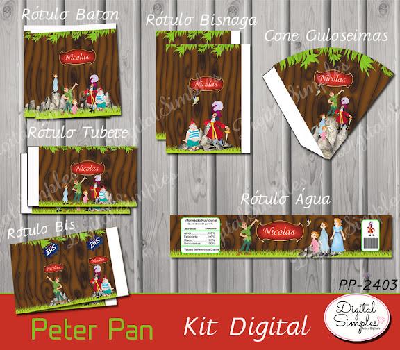 Kit Digital Peter Pan  .....artesdigitalsimples@gmail.com