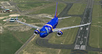 Fresh off from Portland's runway 28L, Southwest's Nevada 1 heads skyward