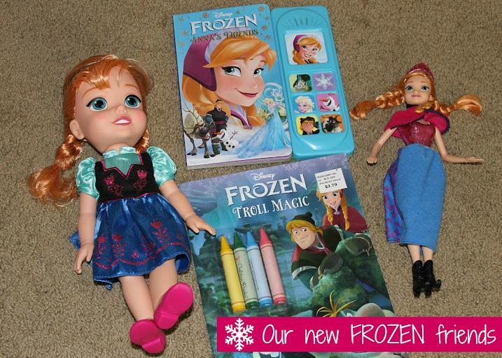 Disney FROZEN Toys and Activities #FrozenFun #shop