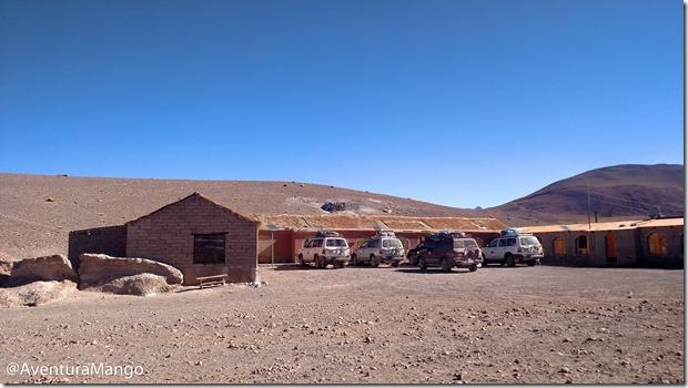 Alojamento próximo à Laguna Colorada