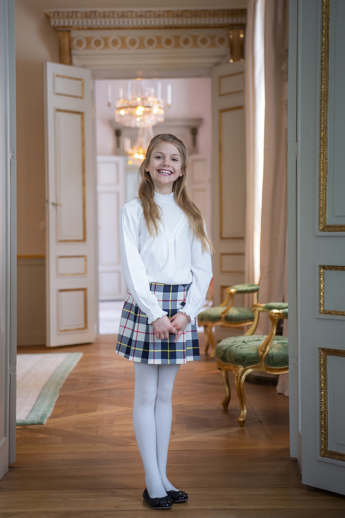 New Birthday Pictures of Princess Estelle of Sweden to mark her 9th birthday