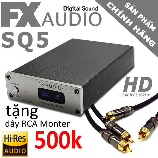 dac nghe nhac fx audio sq5