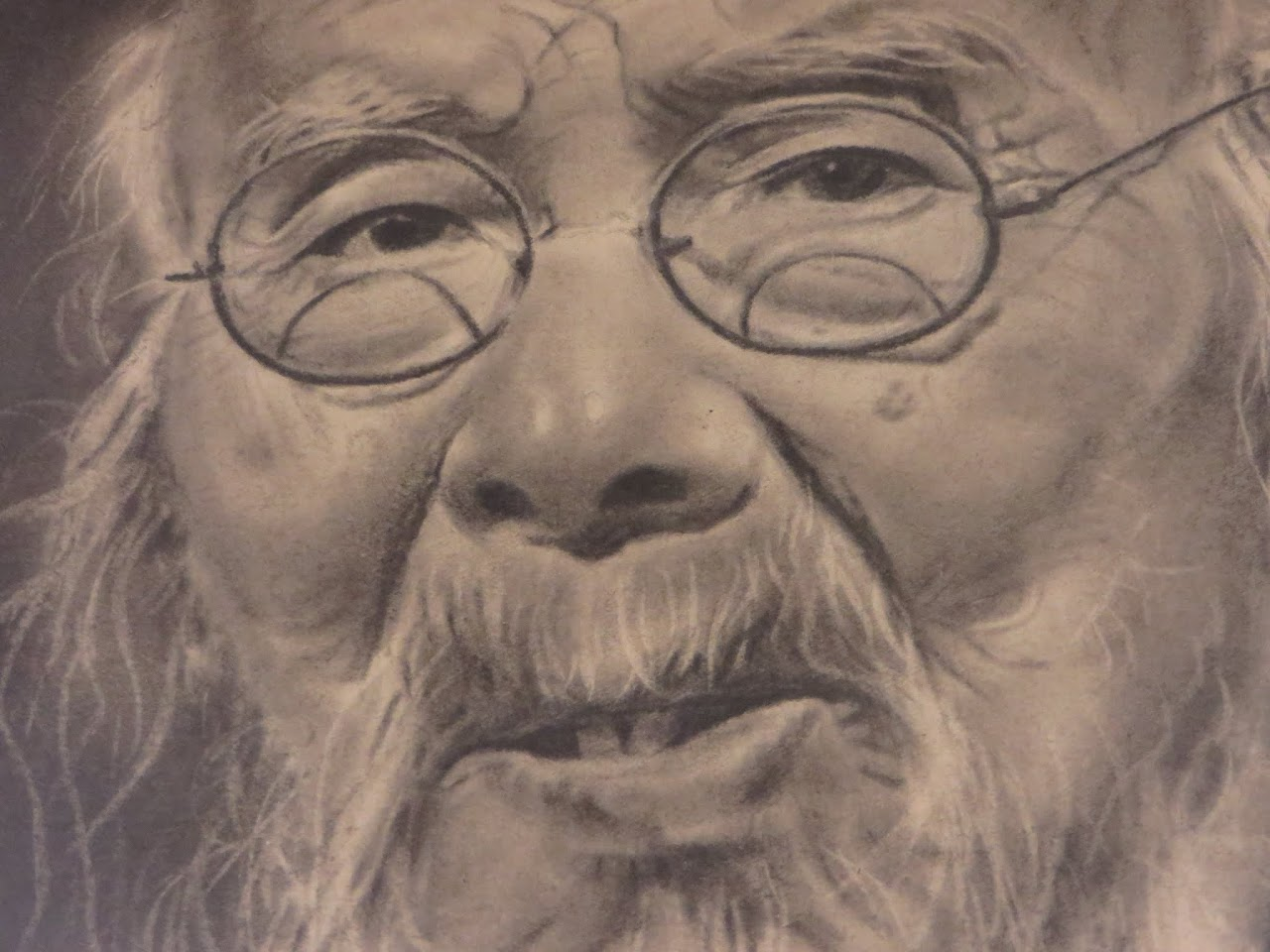 Chinese Charcoal Drawing