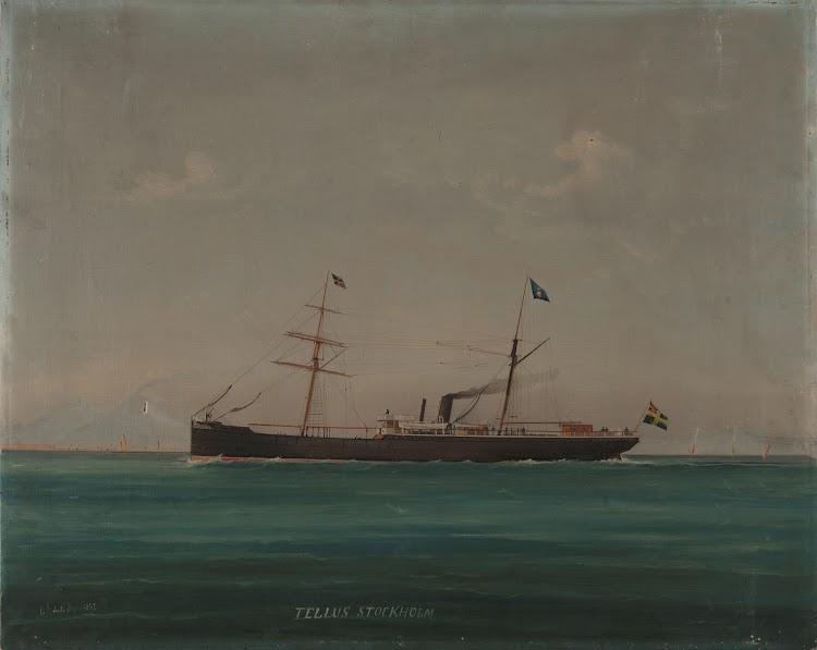 Otra version del TELLUS firmada por el mismo Roberto Luigi, en Napoles, en 1882. Sjöhistoriska Museet. De la web Digital Museum.se.jpg