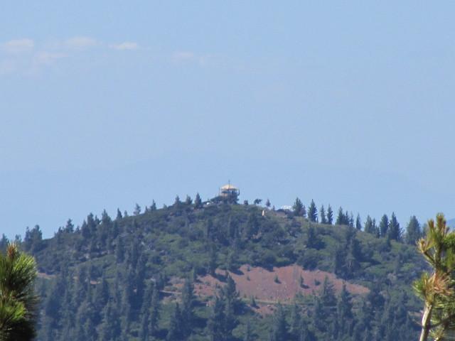 fire lookout on West Prospect Peak