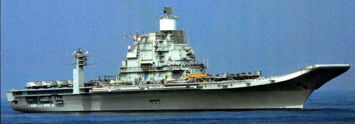 INS Vikramaditya - R33 - Aircraft Carrier - Indian Navy - 01 - TN