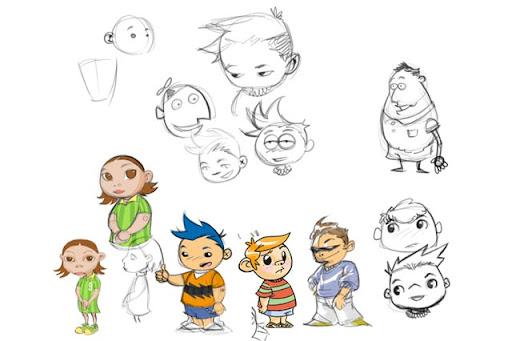 Concept de personagem: Márcio Vieira