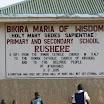2007 - Avanzamento lavori SCUOLA e convitto di Rushere (Uganda)