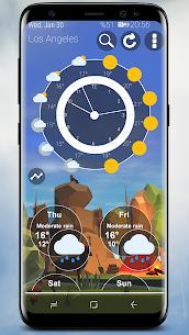 Weather Nature 3D Pro v3.9.0 Cracked APK 1