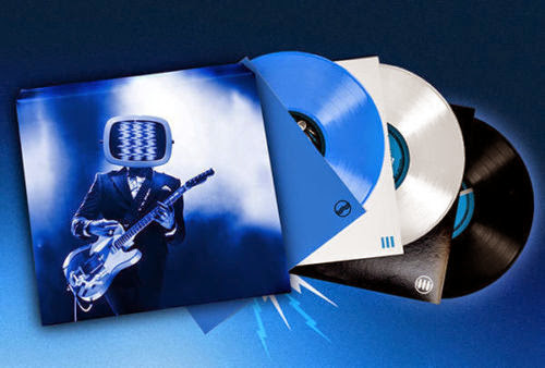 Cover and vinyl records for Jack White's Live From Bonnaroo