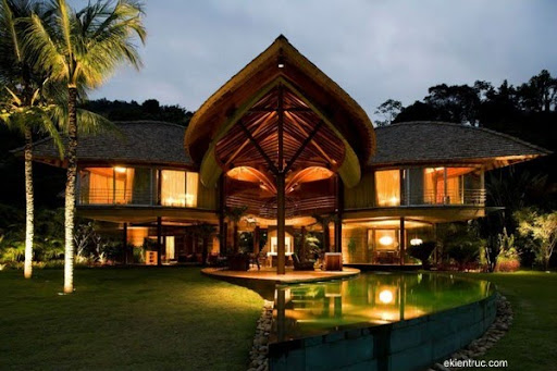 Leaf House 11 3 750x500 Kiến trúc nhà lá thú vị tại Brazil