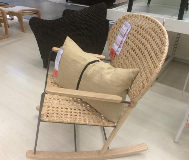 Sedia a dondolo prezzo affordable sedie capotavola e for Sedia design svedese