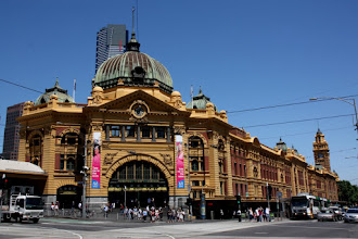 Photo: Year 2 Day 141 - Flinden Street Station in Melbourne