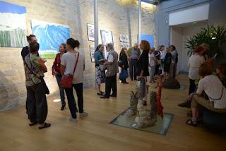 Mairie de Sèvres - Vernissage exposition Denatura (photos Mona Massol)