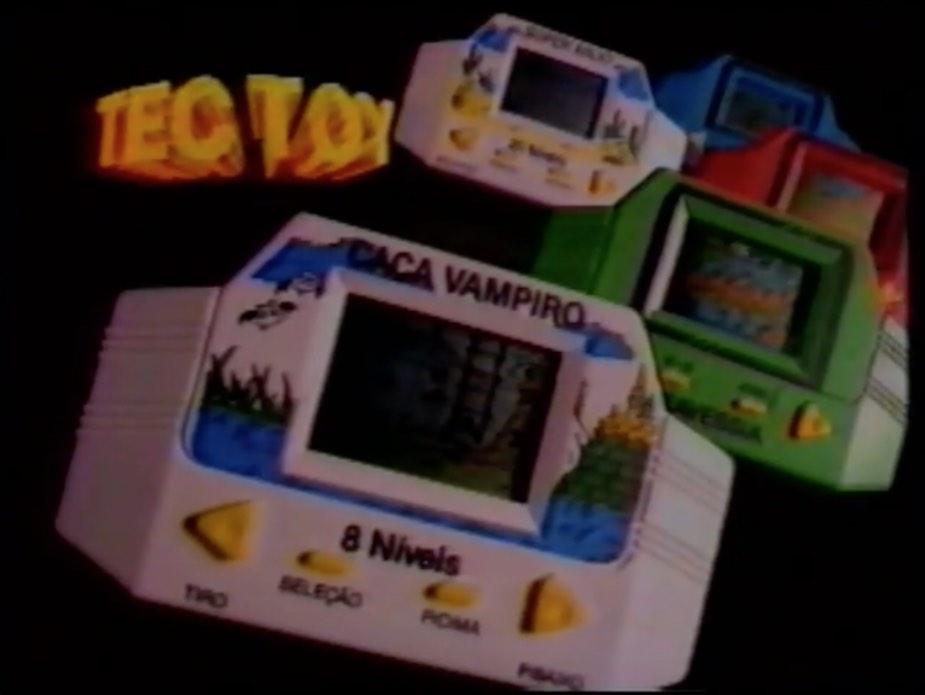Propaganda da TecToy promovendo o seu famoso mini-game em 1991