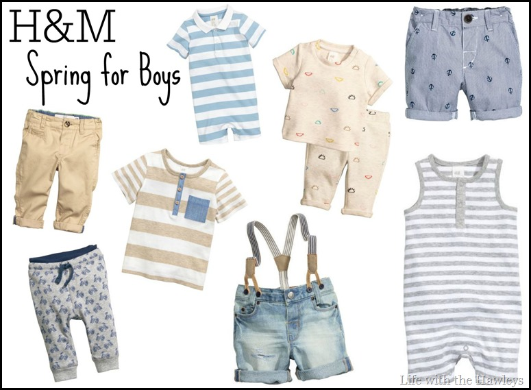 H&M Spring for Boys