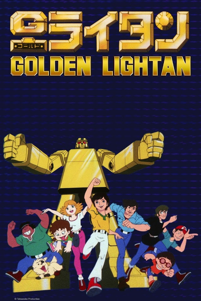 Gold Lightan Golden Warrior