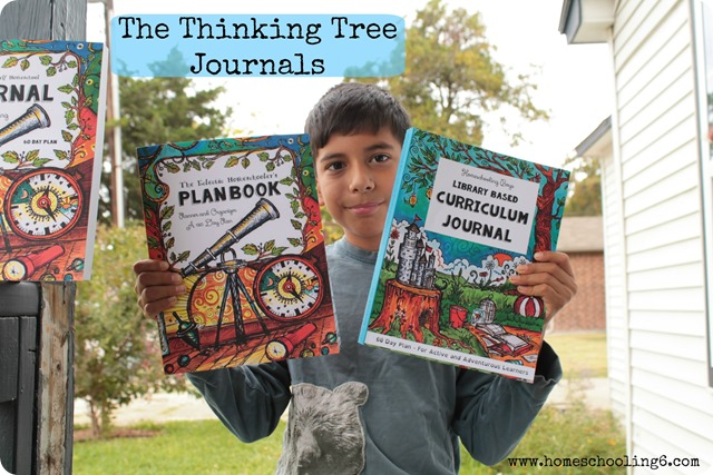 Library Based Journal from The Thinking Tree