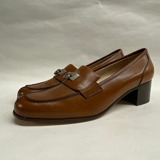 Salvatore Ferragamo Loafer Stacked Heels