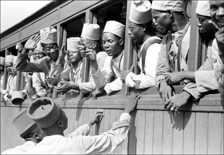 africanos na segunda guerra mundial