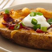 Cheese & Bacon Potato Skins