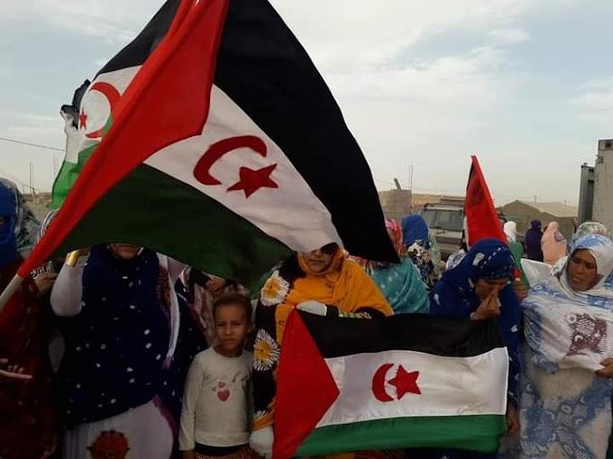 Los refugiados saharauis reciben con alegría la vuelta de Brahim Ghali.