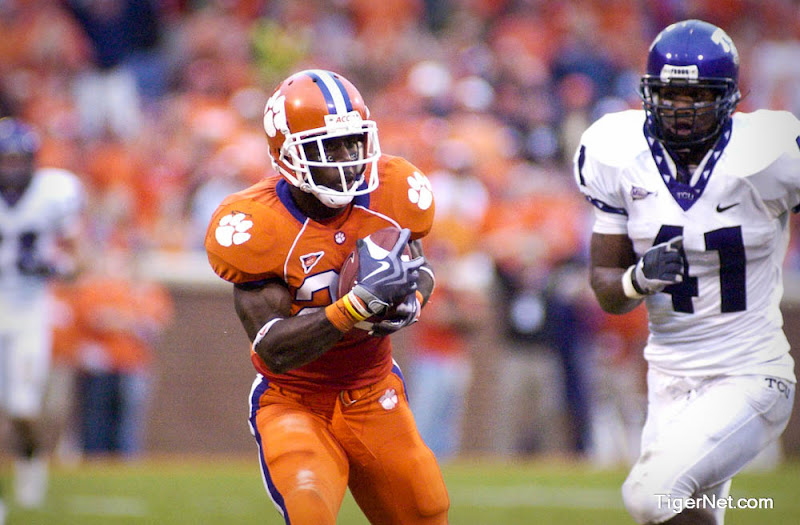 Clemson vs. Texas Christian Photos - 2009, C.J. Spiller, Football, Texas Christian