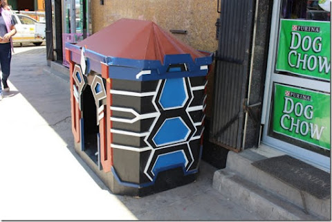 El Alto: Casas para mascotas con arquitectura andina