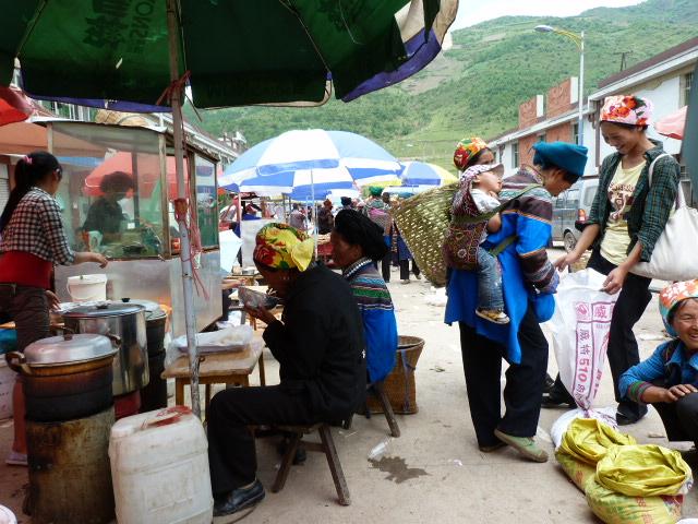 CHINE SICHUAN.XI CHANG ET MINORITE YI, à 1 heure de route de la ville - 1sichuan%2B871.JPG