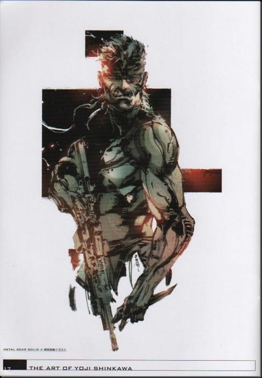The Art of Yoji Shinkawa 1 - Metal Gear Solid, Metal Gear Solid 3, Metal Gear Solid 4, Peace Walker_802479-0003