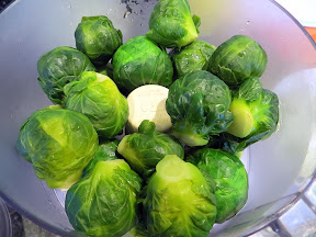 Mashed Brussels Sprouts
