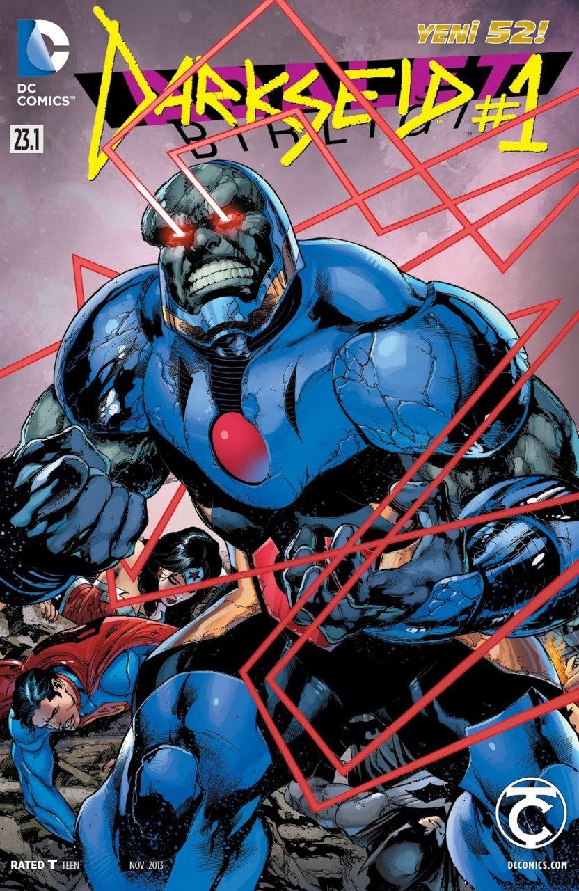 Sayı : Adalet Birliği - Darkseid