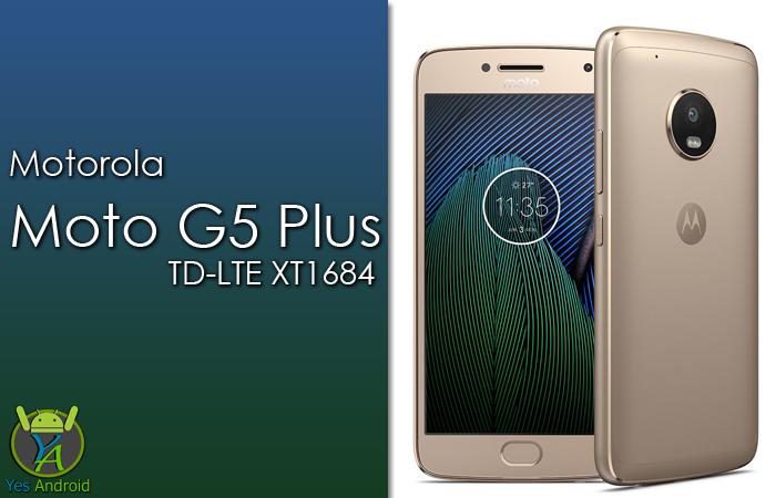 Motorola Moto G5 Plus TD-LTE XT1684 Full Specs Datasheet