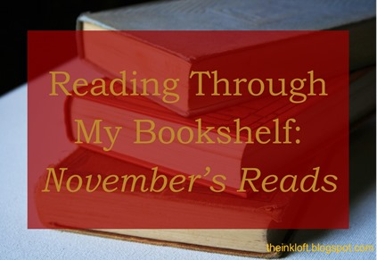 Reading Through My Bookshelf November