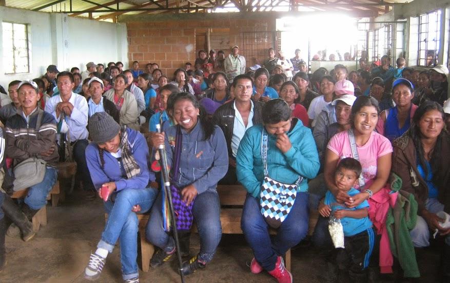 Comunidades indígenas continúan en Acciones de liberación de la Madre Tierra