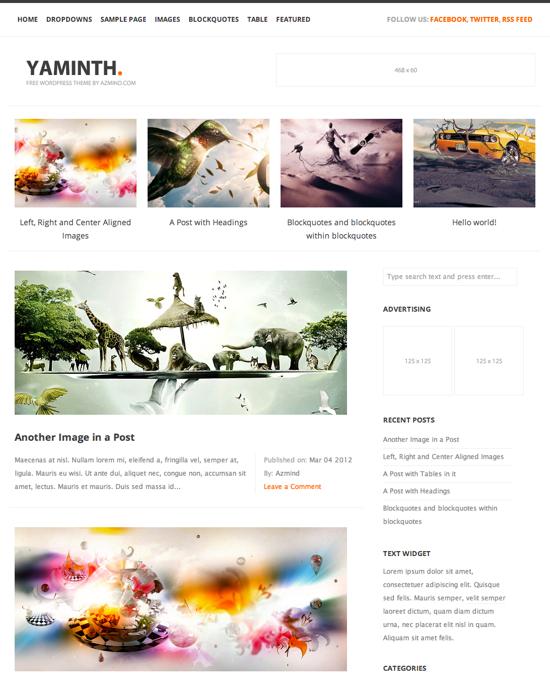 Yaminth theme