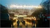 Weihnachtsmarkt vorm Stadion