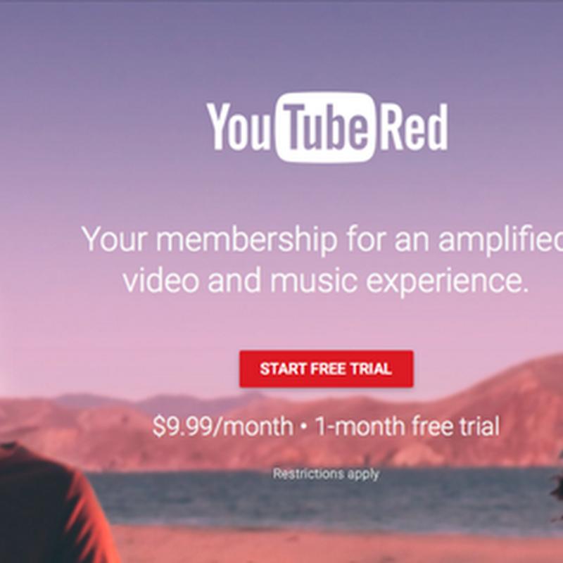 Las razones por la que nadie está pagando por Youtube Red