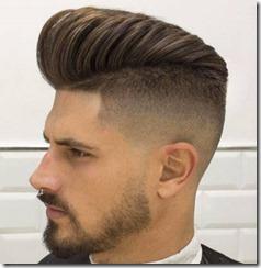 Fade Haircut High Fade Pompadour